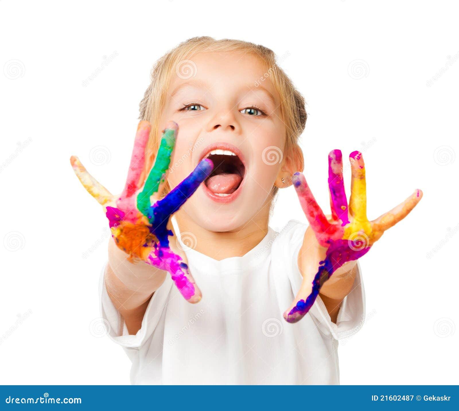 χρώμα χεριών