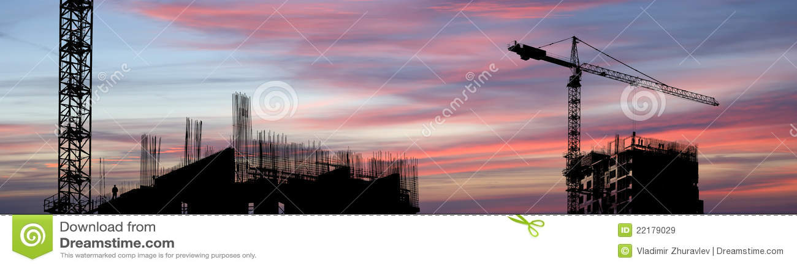 χτίζοντας γερανός
