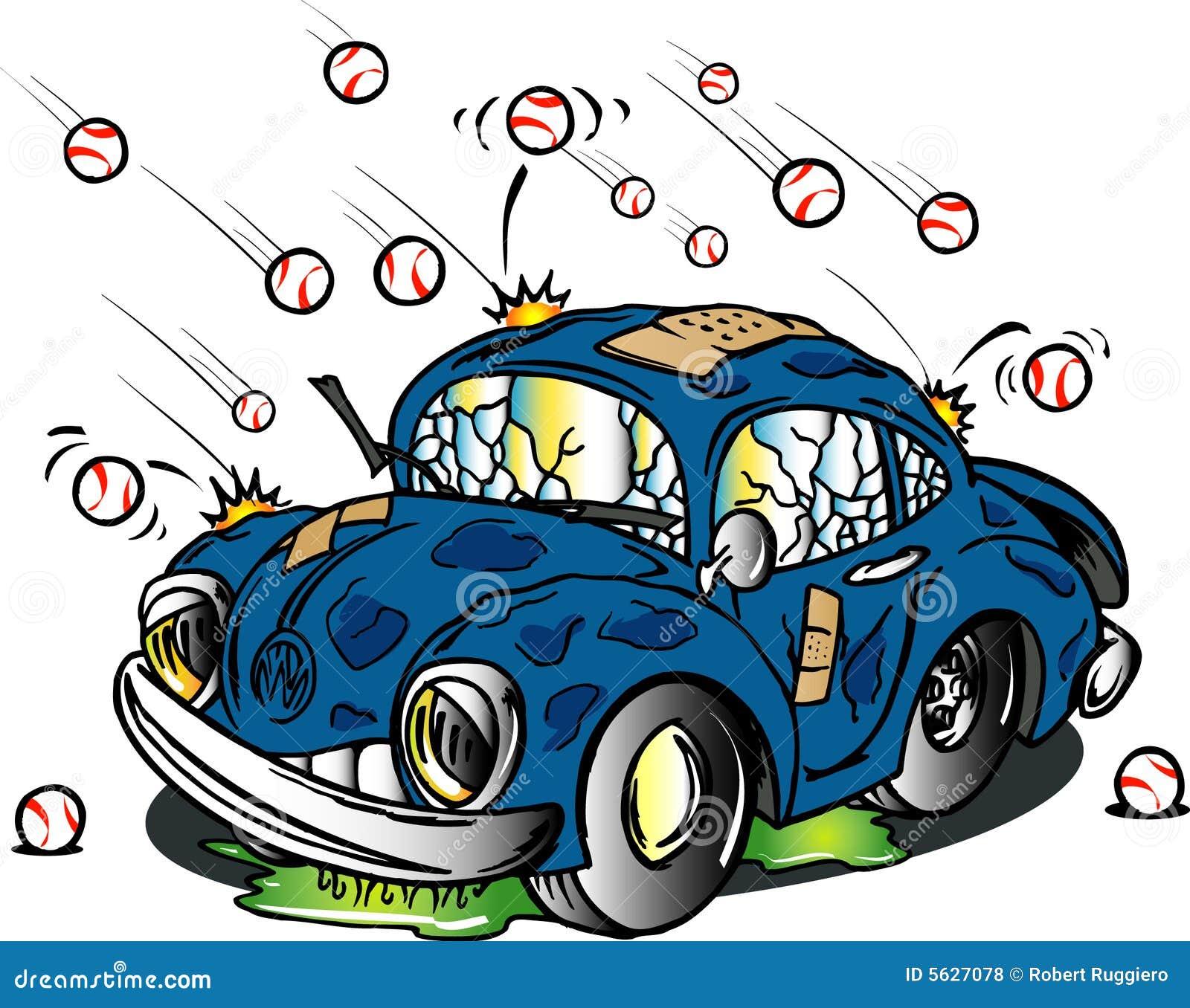 χτύπημα χαλαζιού αυτοκινήτων