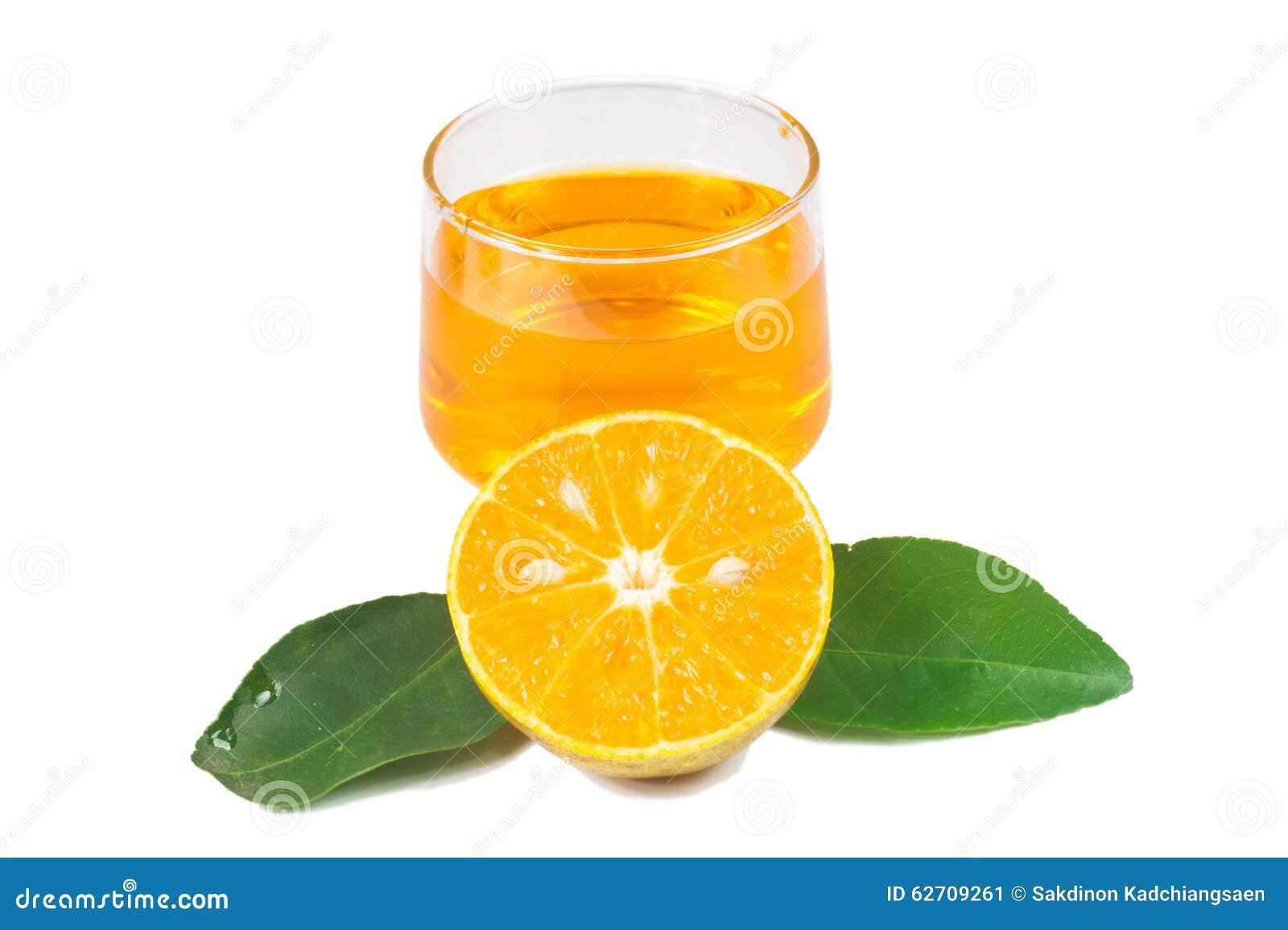 Χυμός από πορτοκάλι και φέτες