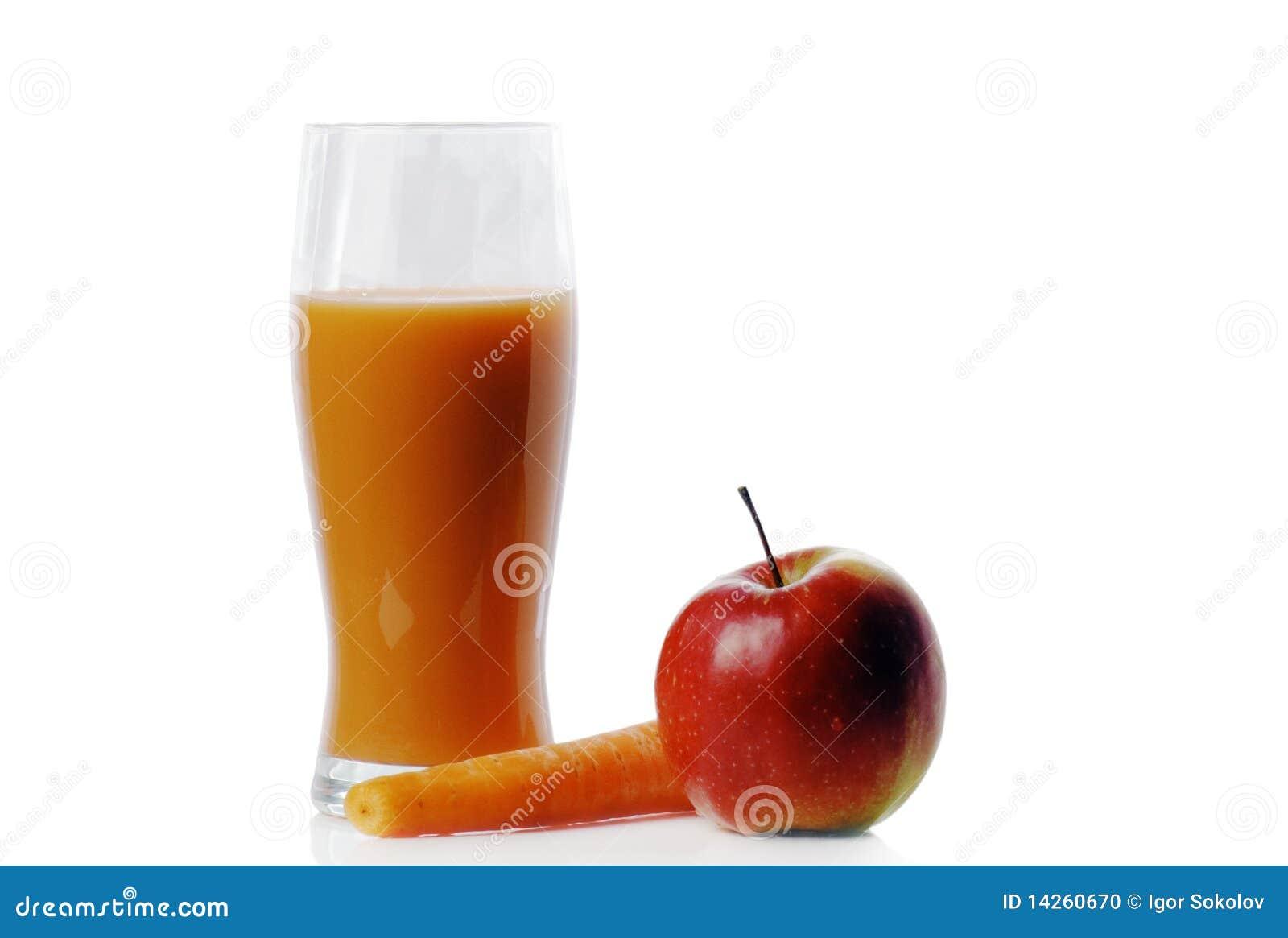 χυμός καρότων μήλων