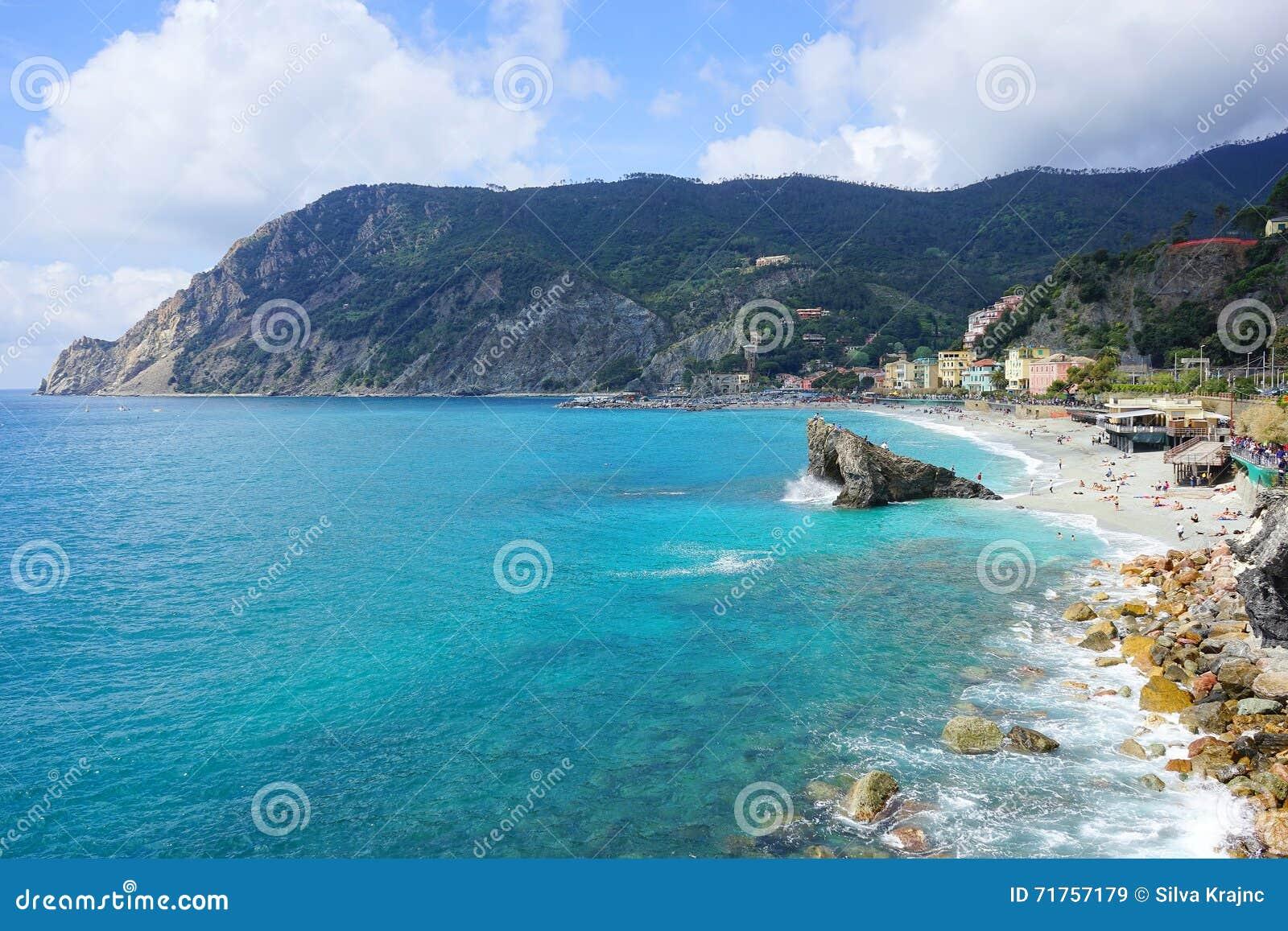Χωριά στην ακτή του Λα Spezia