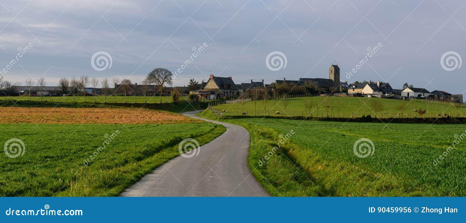 Χωριό κοντά σε Mont Άγιος Michel