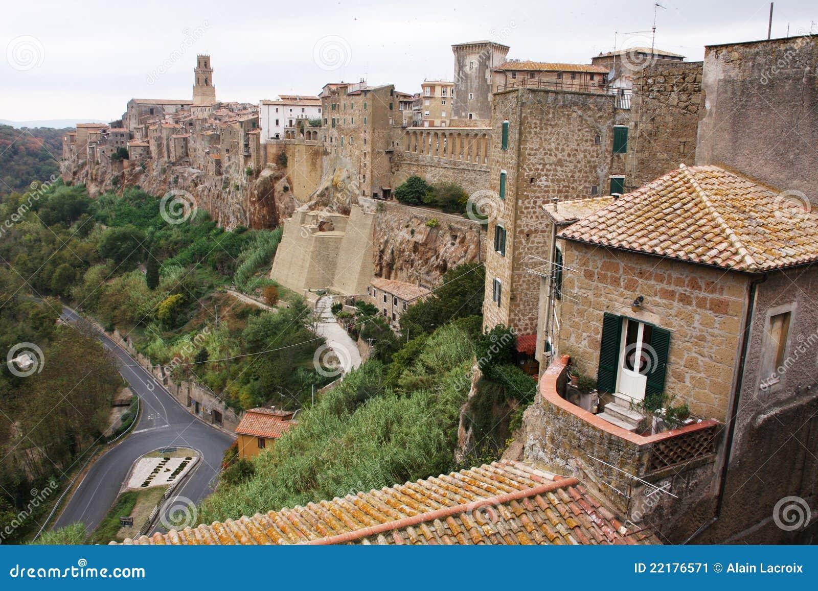 χωριό της Τοσκάνης
