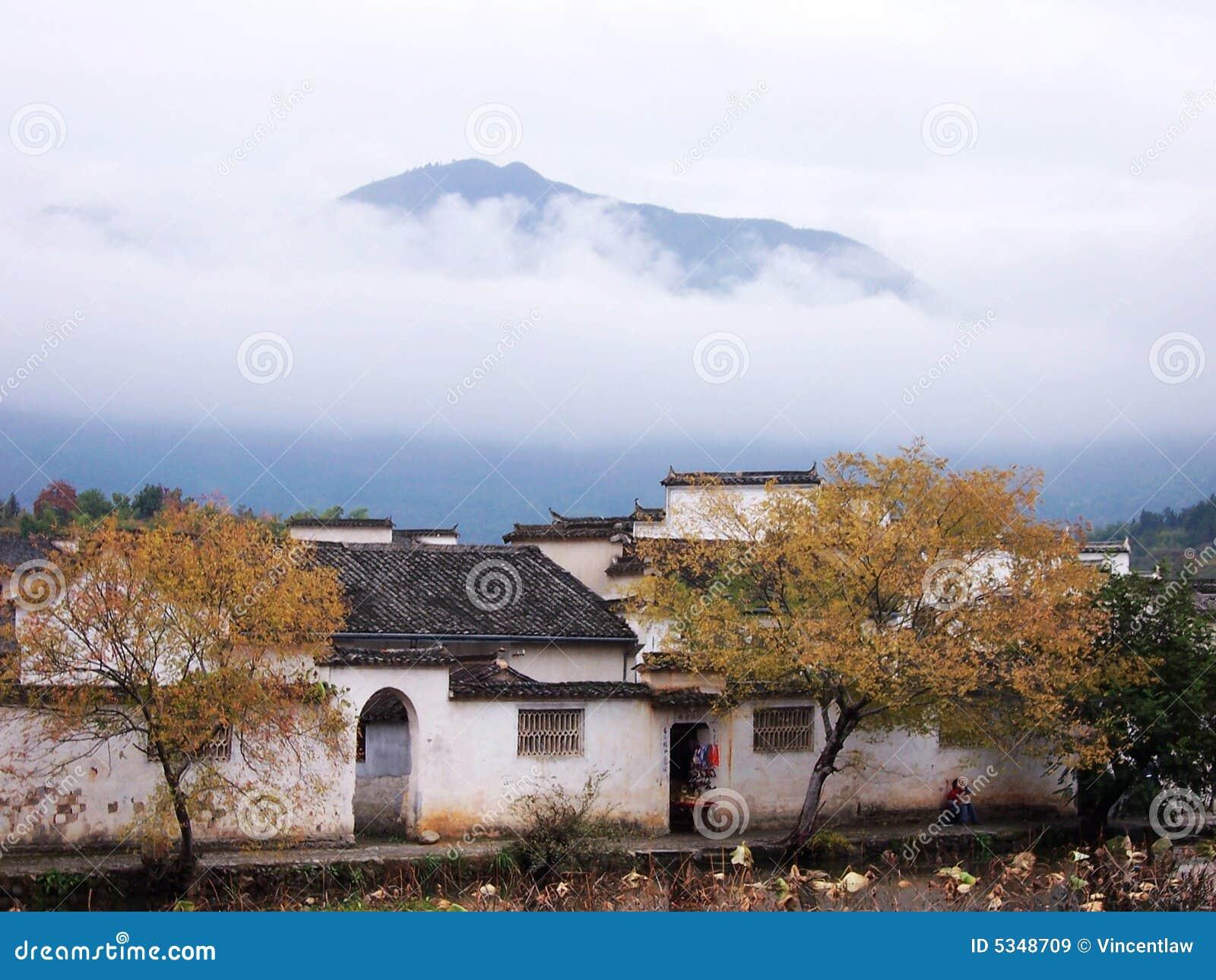 χωριό της Hong φθινοπώρου