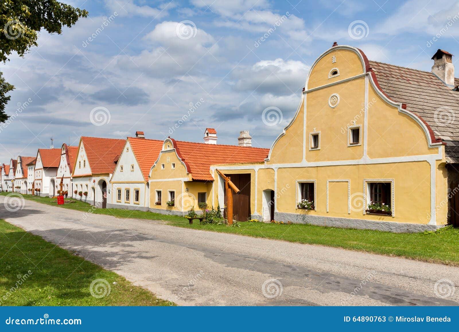 Χωριό Holasovice της ΟΥΝΕΣΚΟ