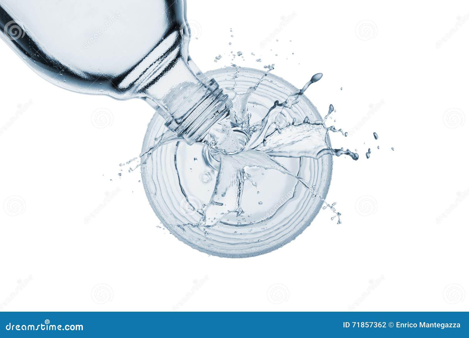 χύνοντας ύδωρ γυαλιού