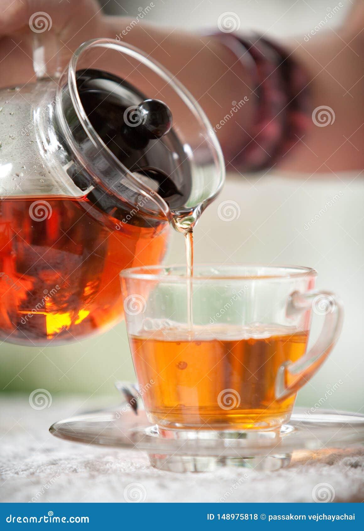 Χύστε το τσάι