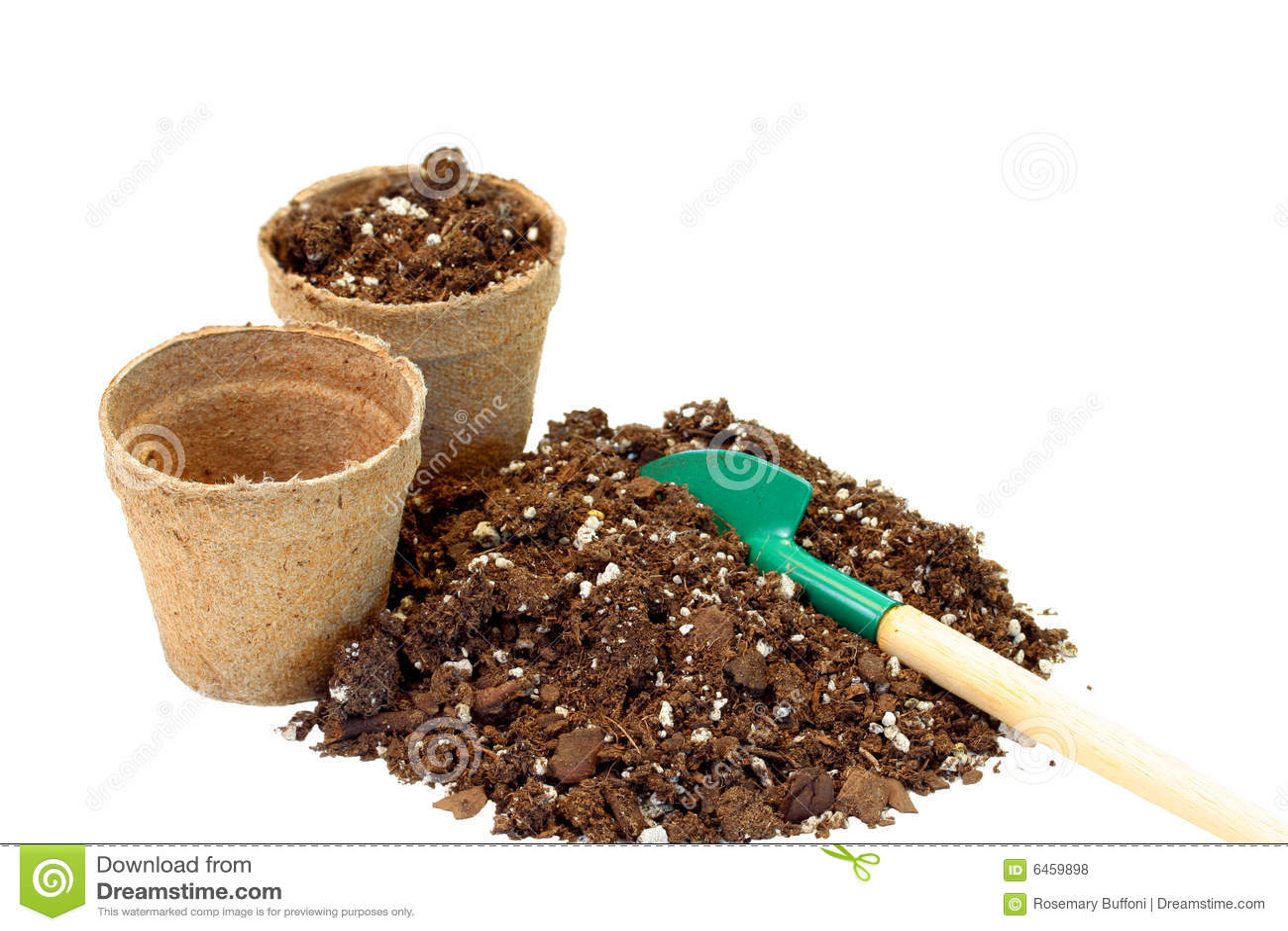 χώμα δοχείων τύρφης