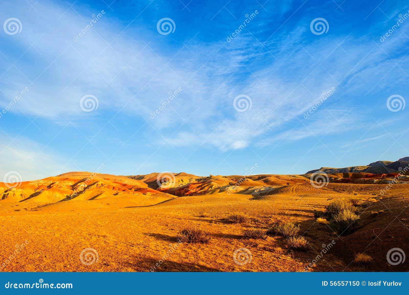 Download Χώμα χρώματος των καταθέσεων υδραργύρου σε Altai Στοκ Εικόνες - εικόνα από κενός, χώρα: 56557150