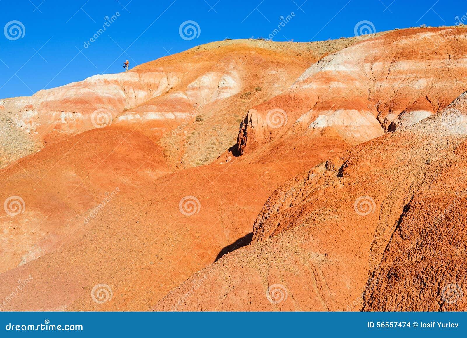 Download Χώμα χρώματος των καταθέσεων υδραργύρου σε Altai Στοκ Εικόνες - εικόνα από χρώμα, επαρχία: 56557474