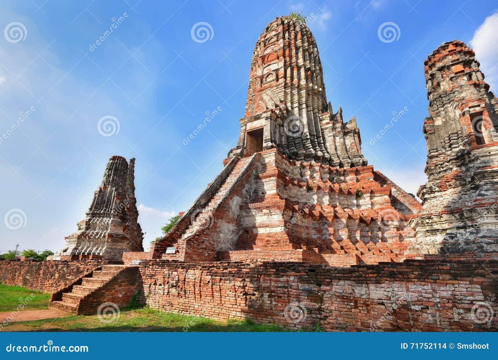 Χώρος λατρείας, Wat Chaiwatthanaram σε Ayutthaya, Ταϊλάνδη