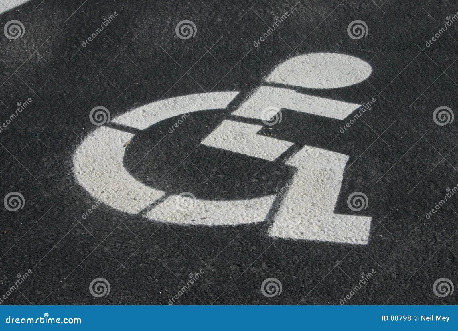 χώρος στάθμευσης αναπηρί&alph