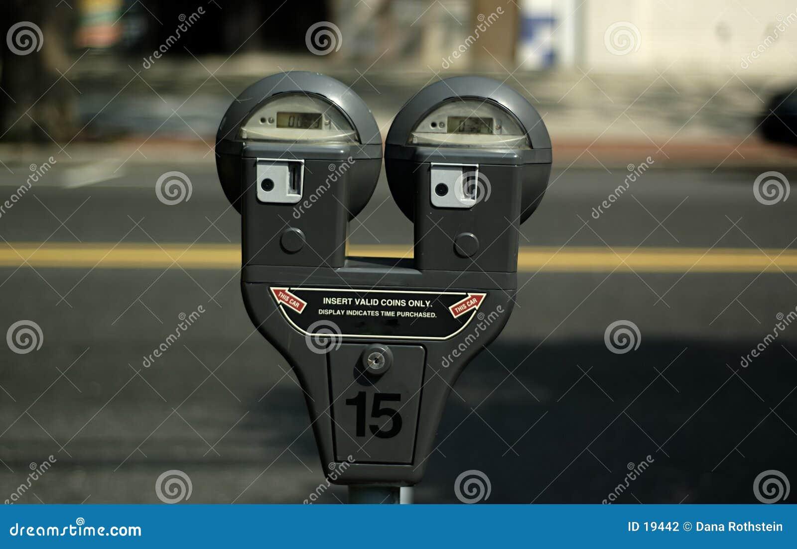 χώρος στάθμευσης μετρητών