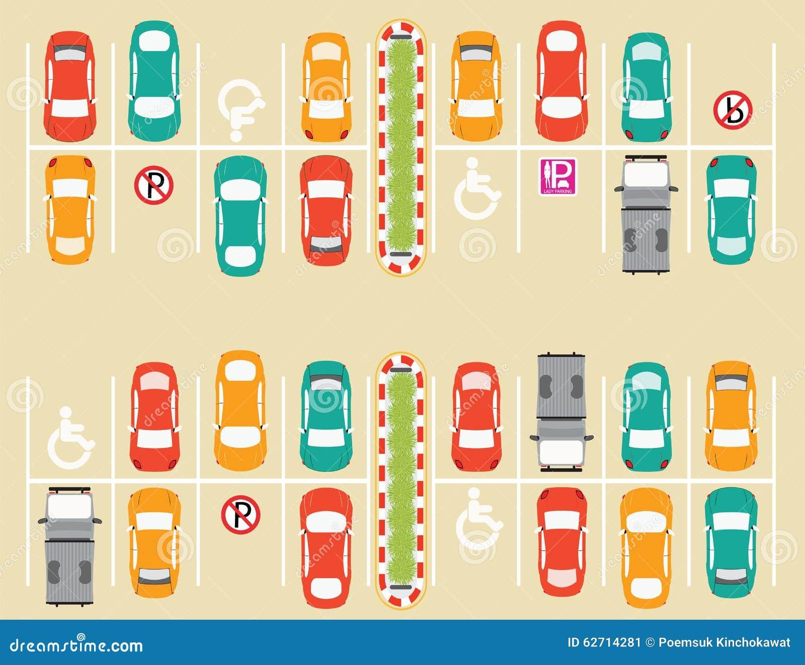Χώρος στάθμευσης υπαίθριων σταθμών αυτοκινήτων