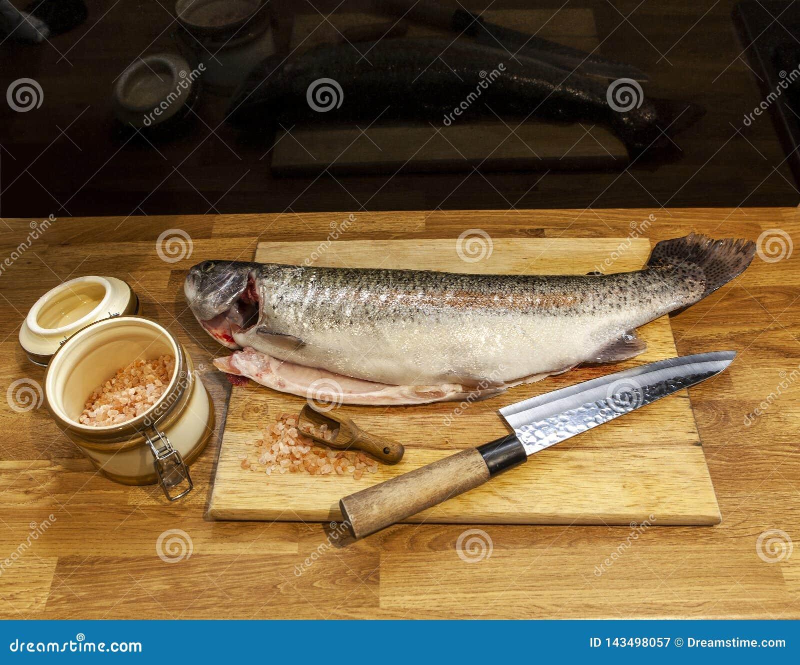 Ψάρια στον τέμνοντα πίνακα