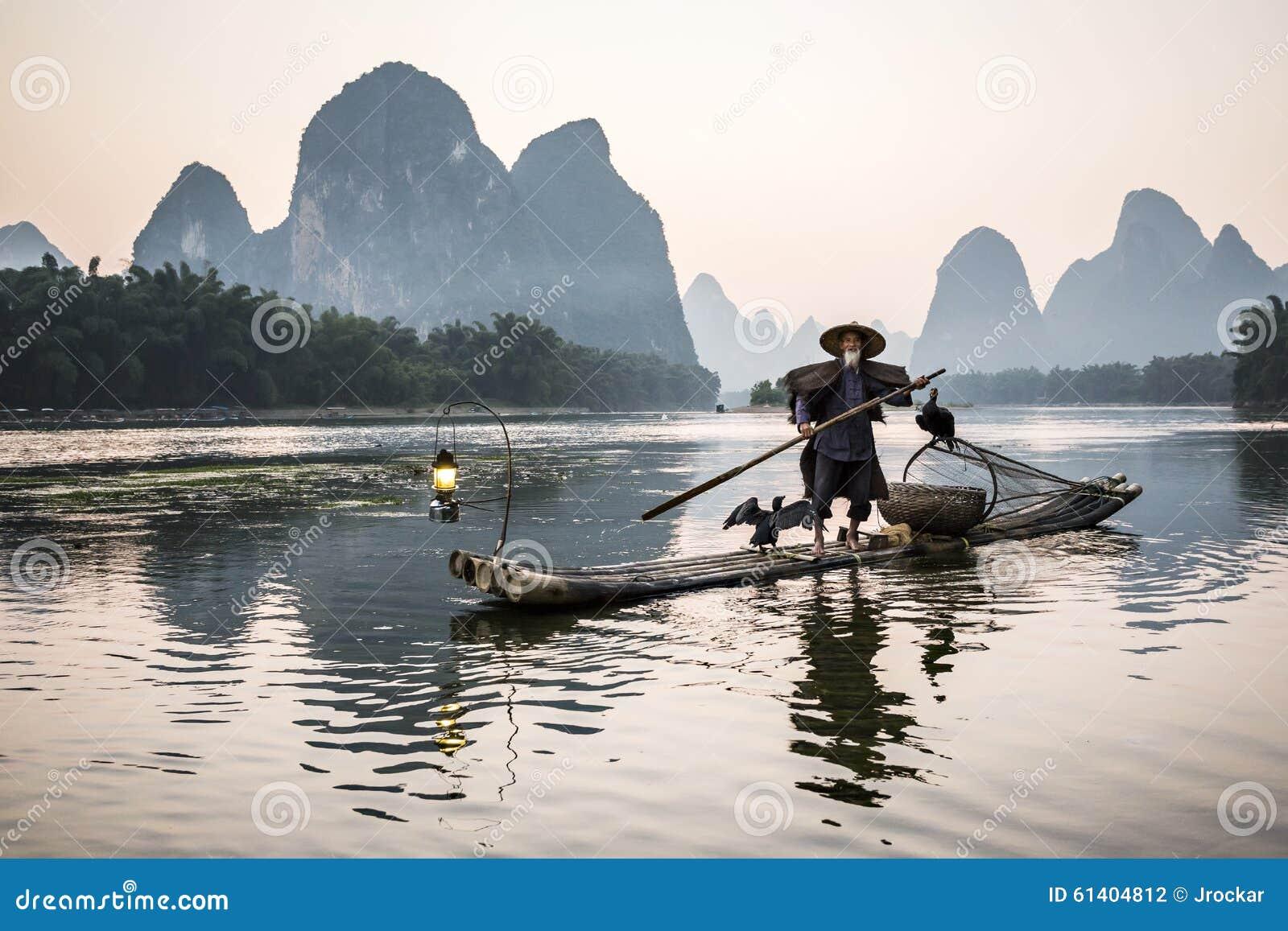 Ψαράς κορμοράνων