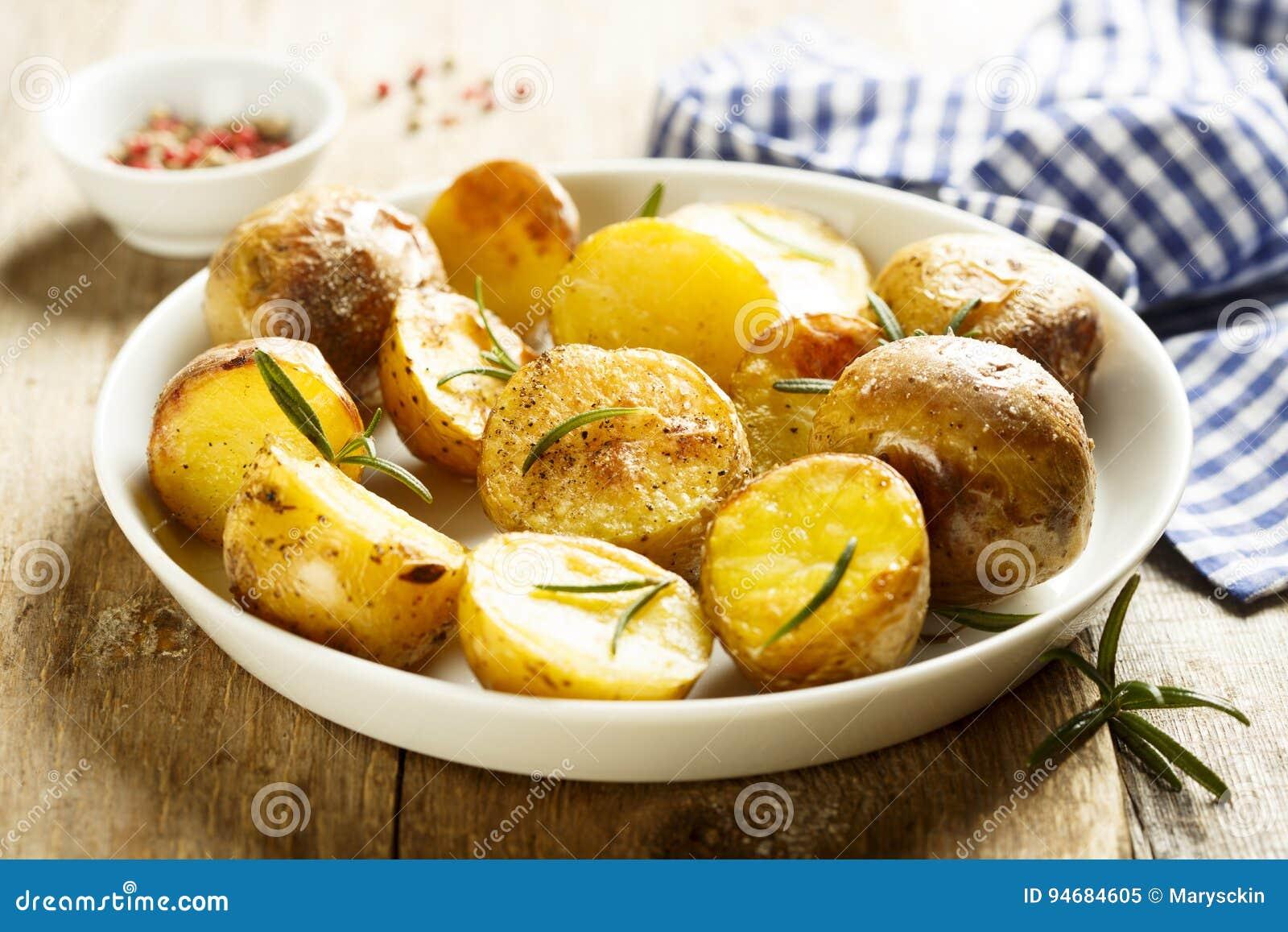 ψημένες πατάτες