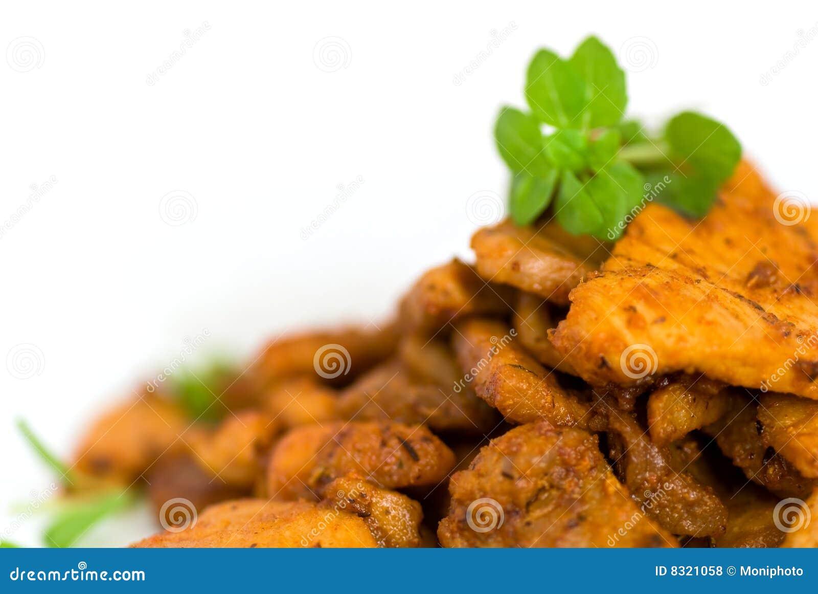 ψημένες χοιρινό κρέας φέτε&sigmaf