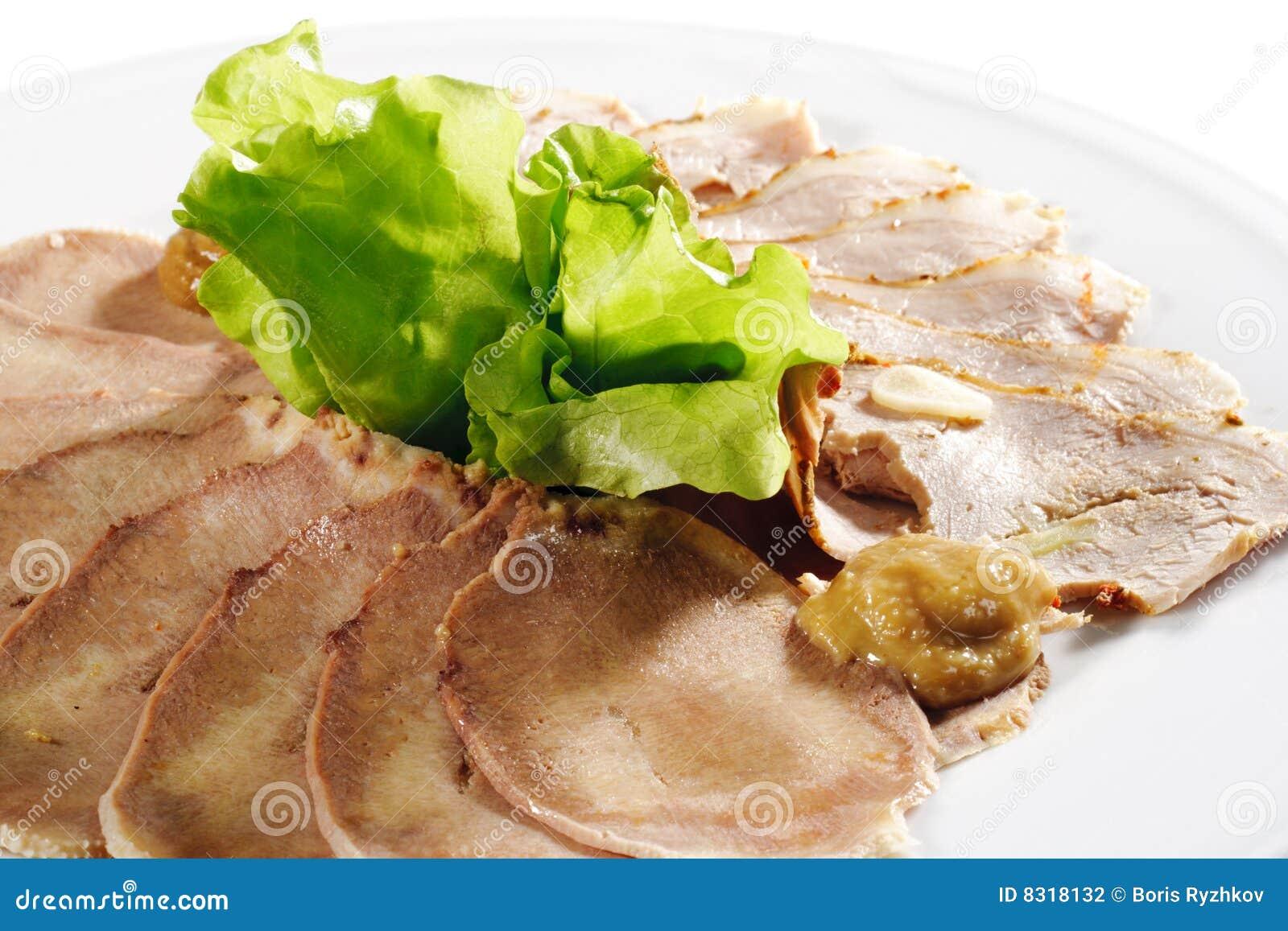 ψημένο παλαιό χοιρινό κρέας