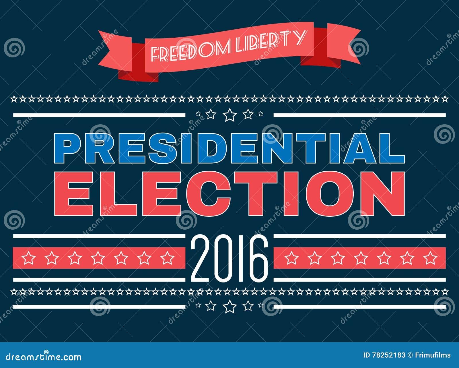 Ψηφιακές διανυσματικές αμερικανικές προεδρικές εκλογές 2016