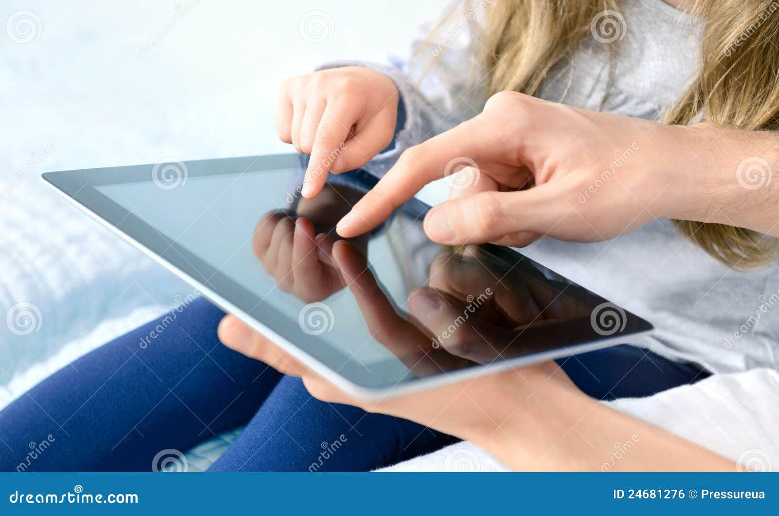 ψηφιακή ταμπλέτα ψυχαγωγίας μήλων ipad