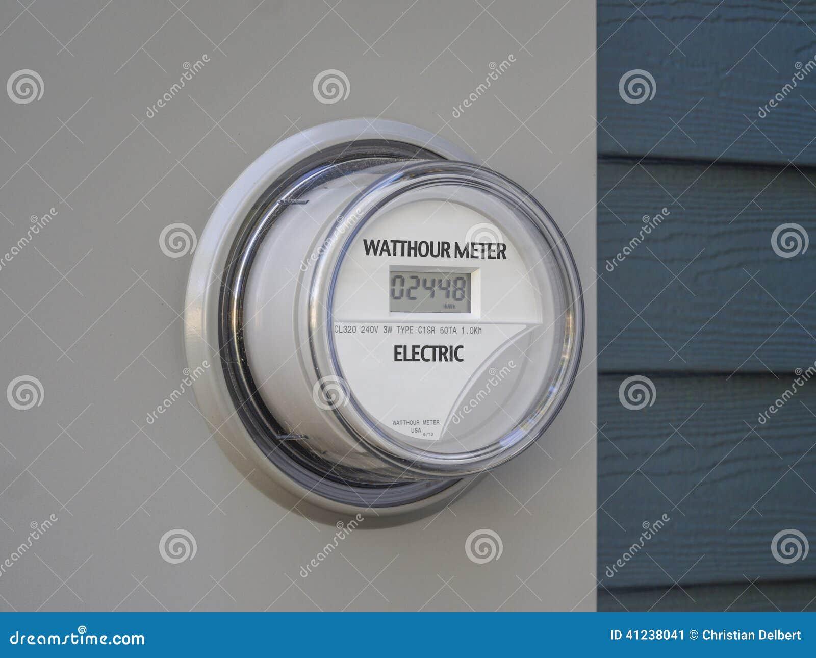 Ψηφιακός ηλεκτρικός μετρητής παροχής ηλεκτρικού ρεύματος