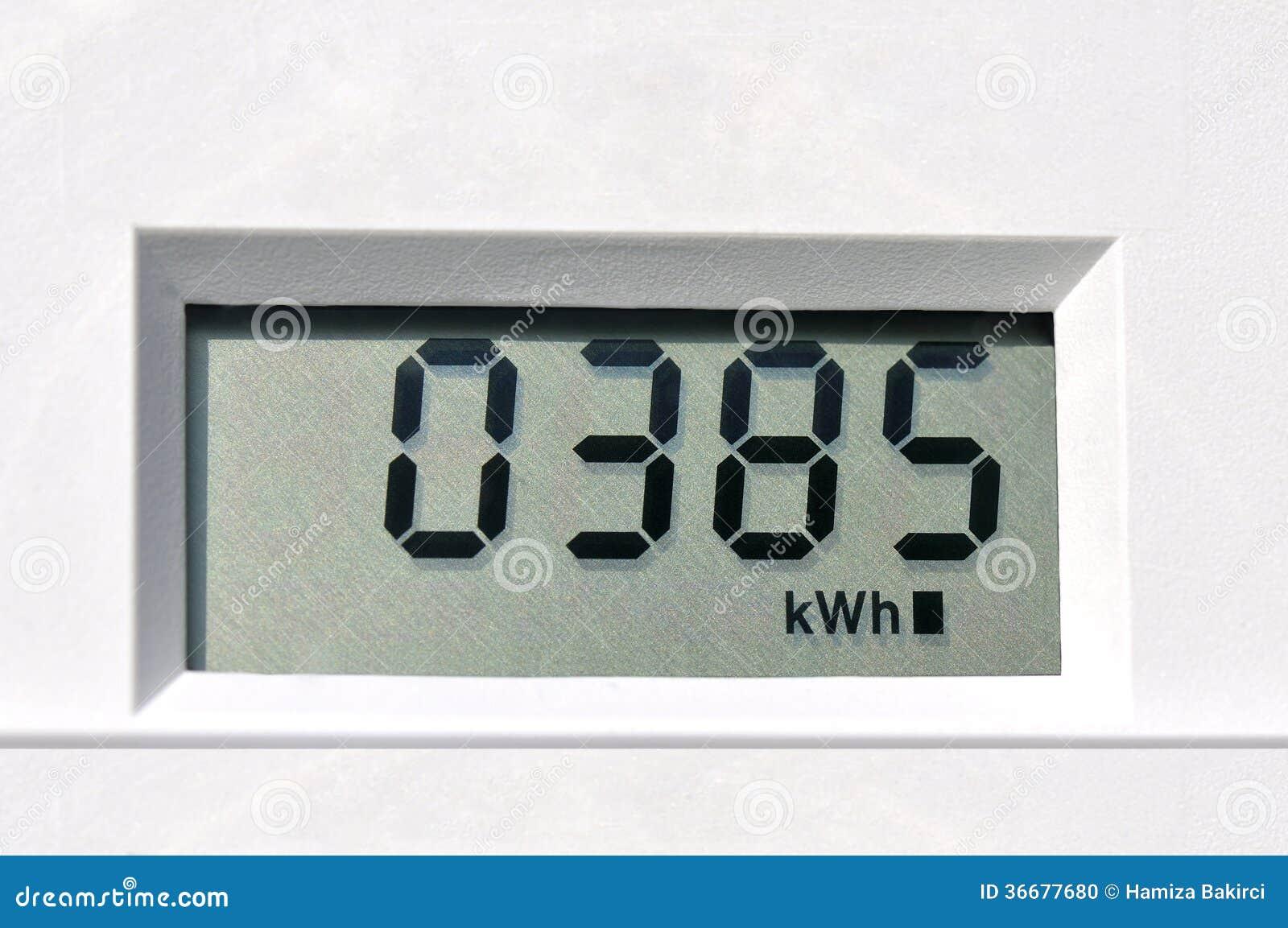 Ψηφιακός ηλεκτρικός μετρητής