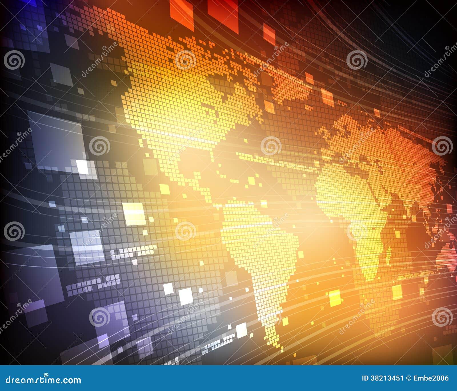 Ψηφιακός παγκόσμιος χάρτης