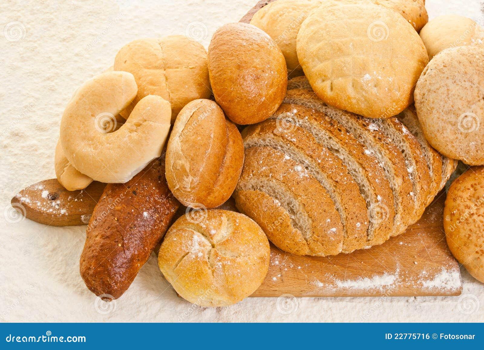 ψωμί χαρτονιών ψησίματος δι