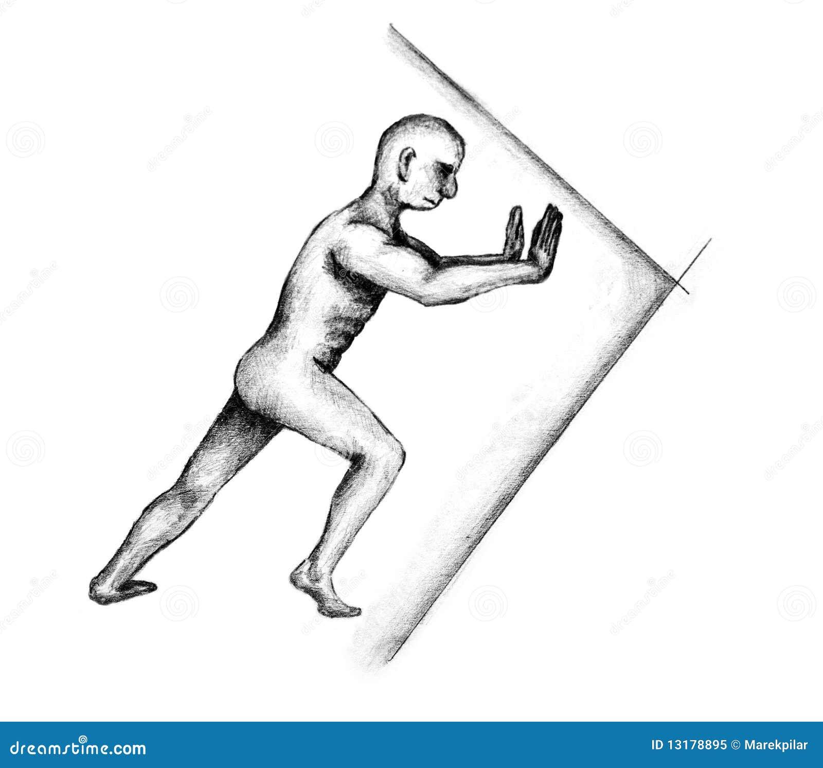 ωθώντας τοίχος Hercules