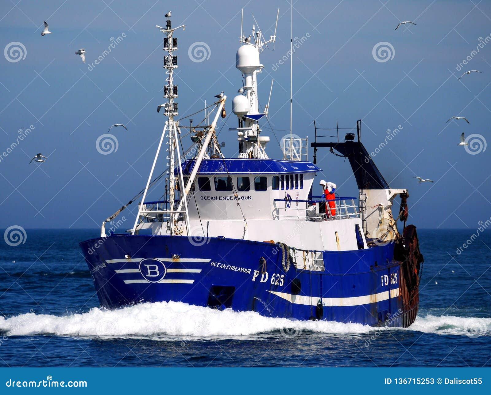 Ωκεάνια προσπάθεια PD625 αλιευτικών σκαφών