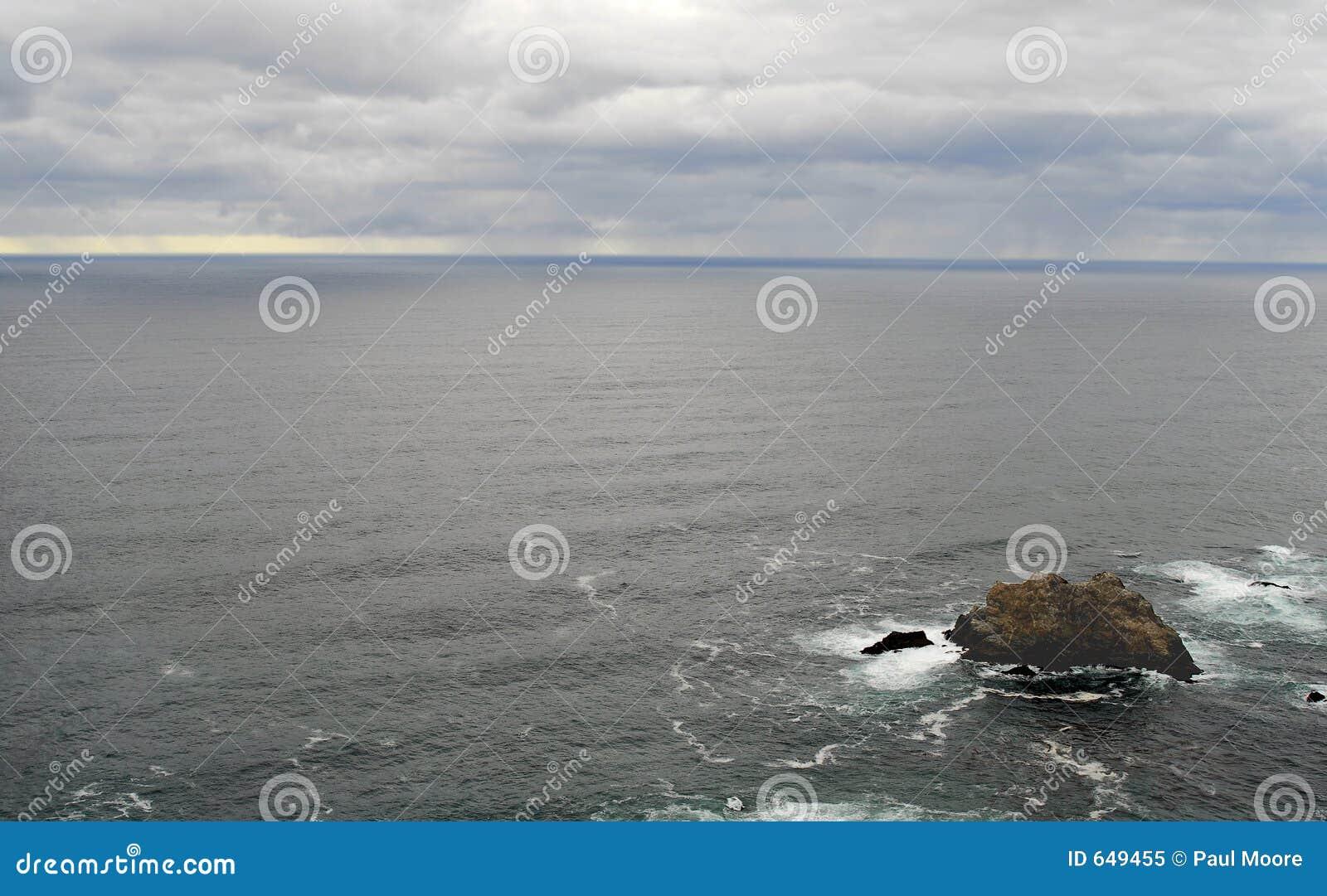 ωκεάνιοι ειρηνικοί βράχο&