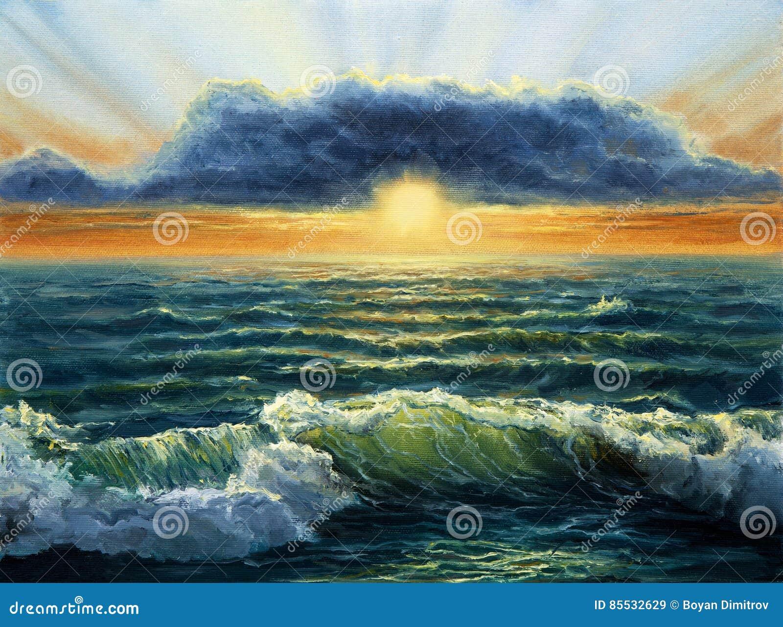 ωκεανός πέρα από το ηλιοβ&alpha