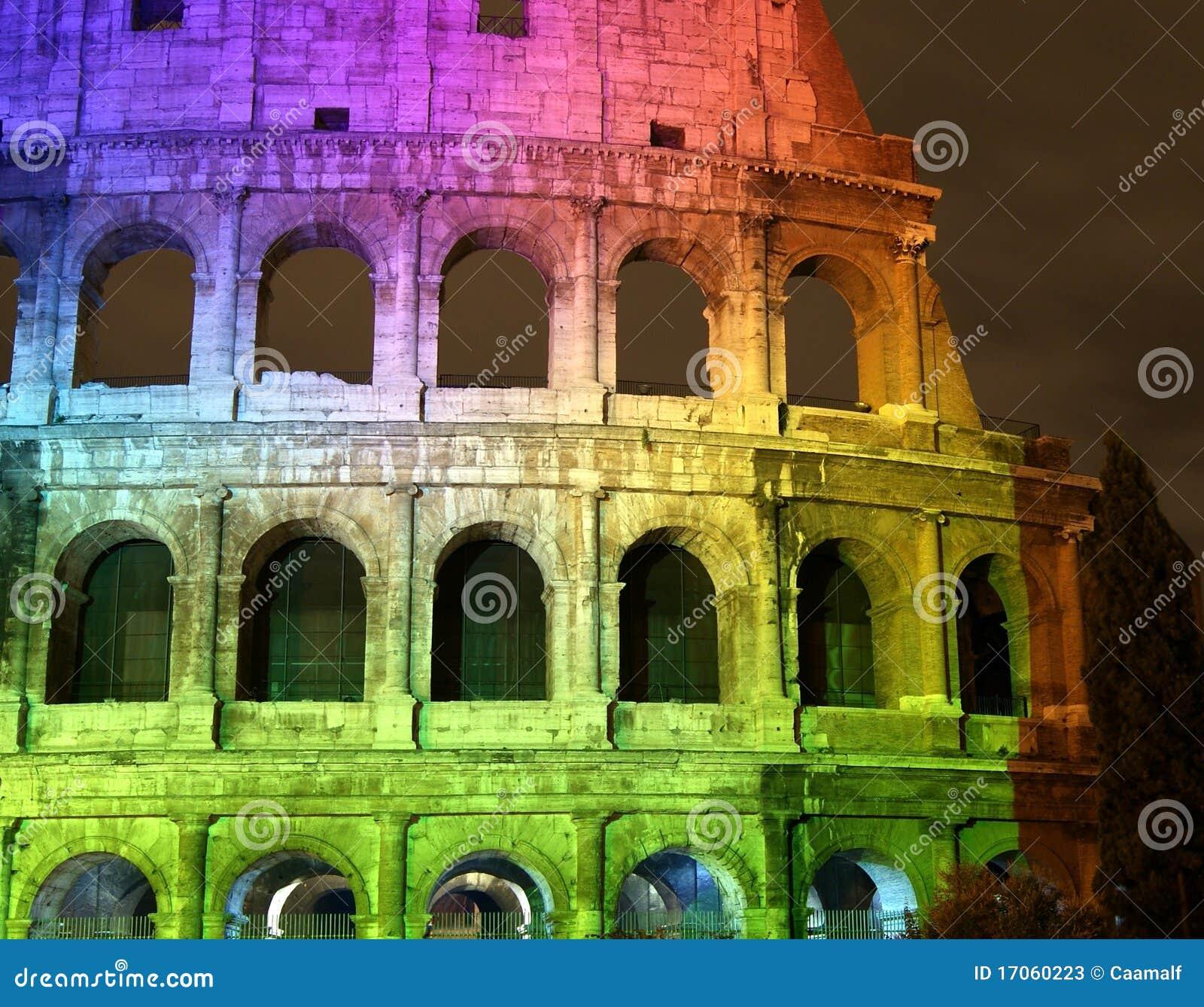 όλο το colosseum χρωμάτων