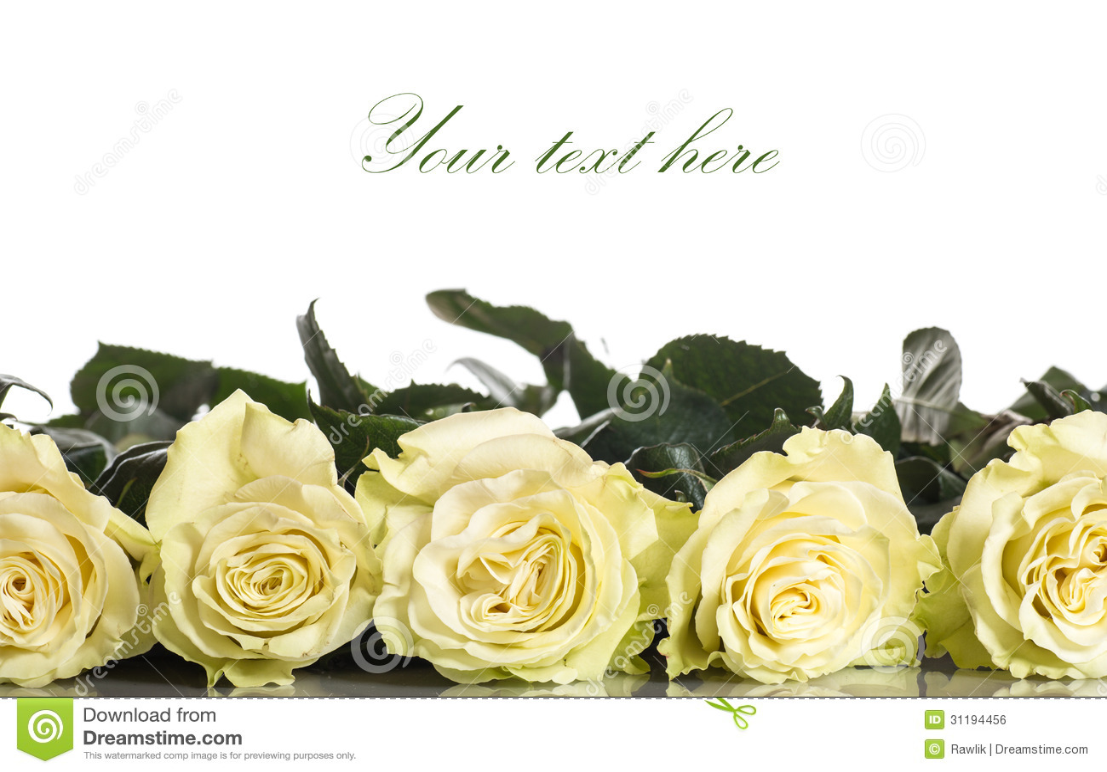 Όμορφα κίτρινα τριαντάφυλλα