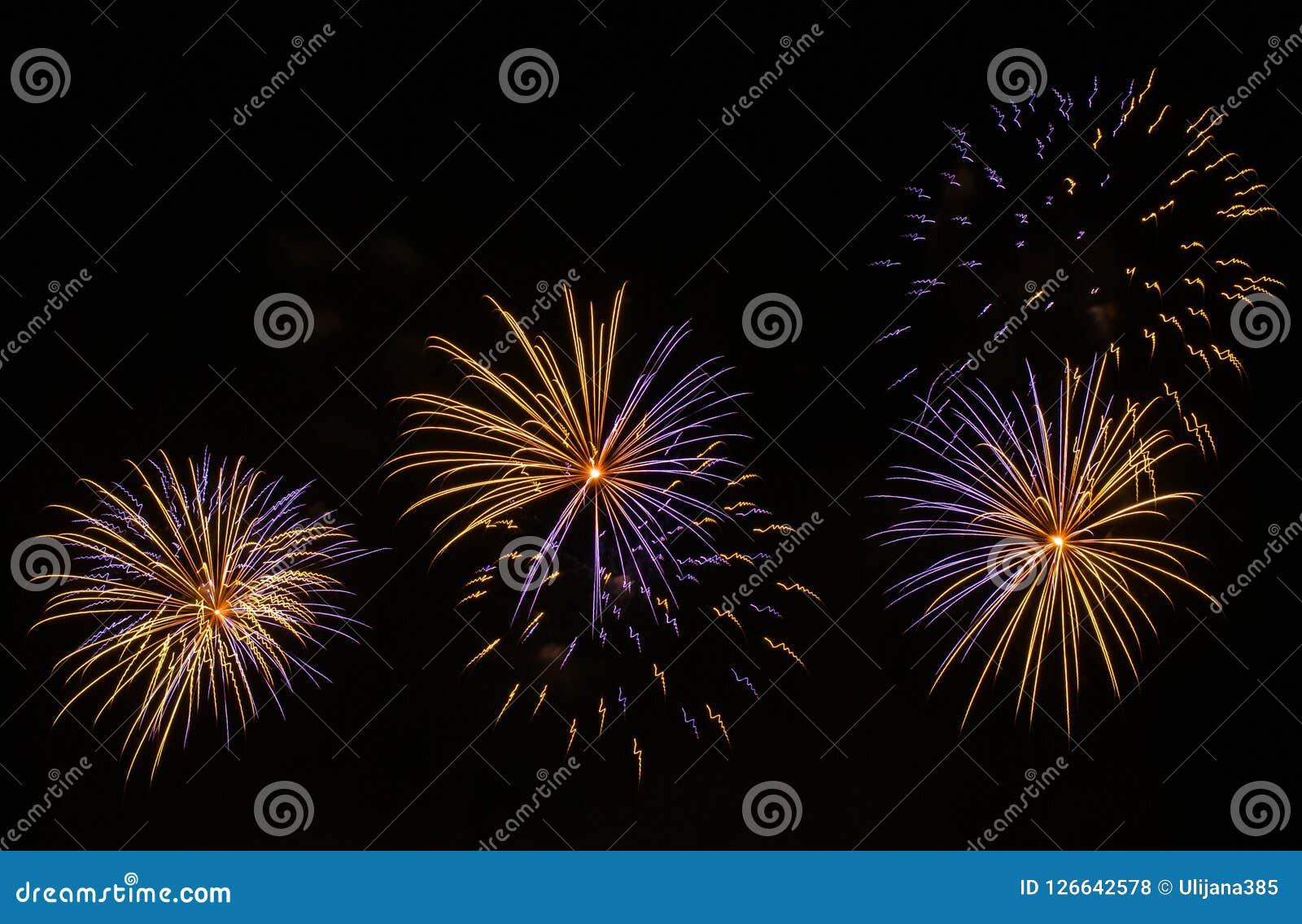 όμορφα πυροτεχνήματα