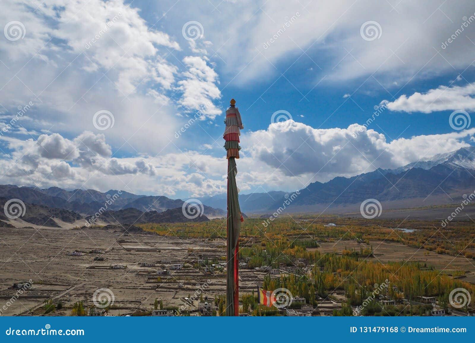 Όμορφη χειμερινή εποχή σε Leh Ladakh, Ινδία