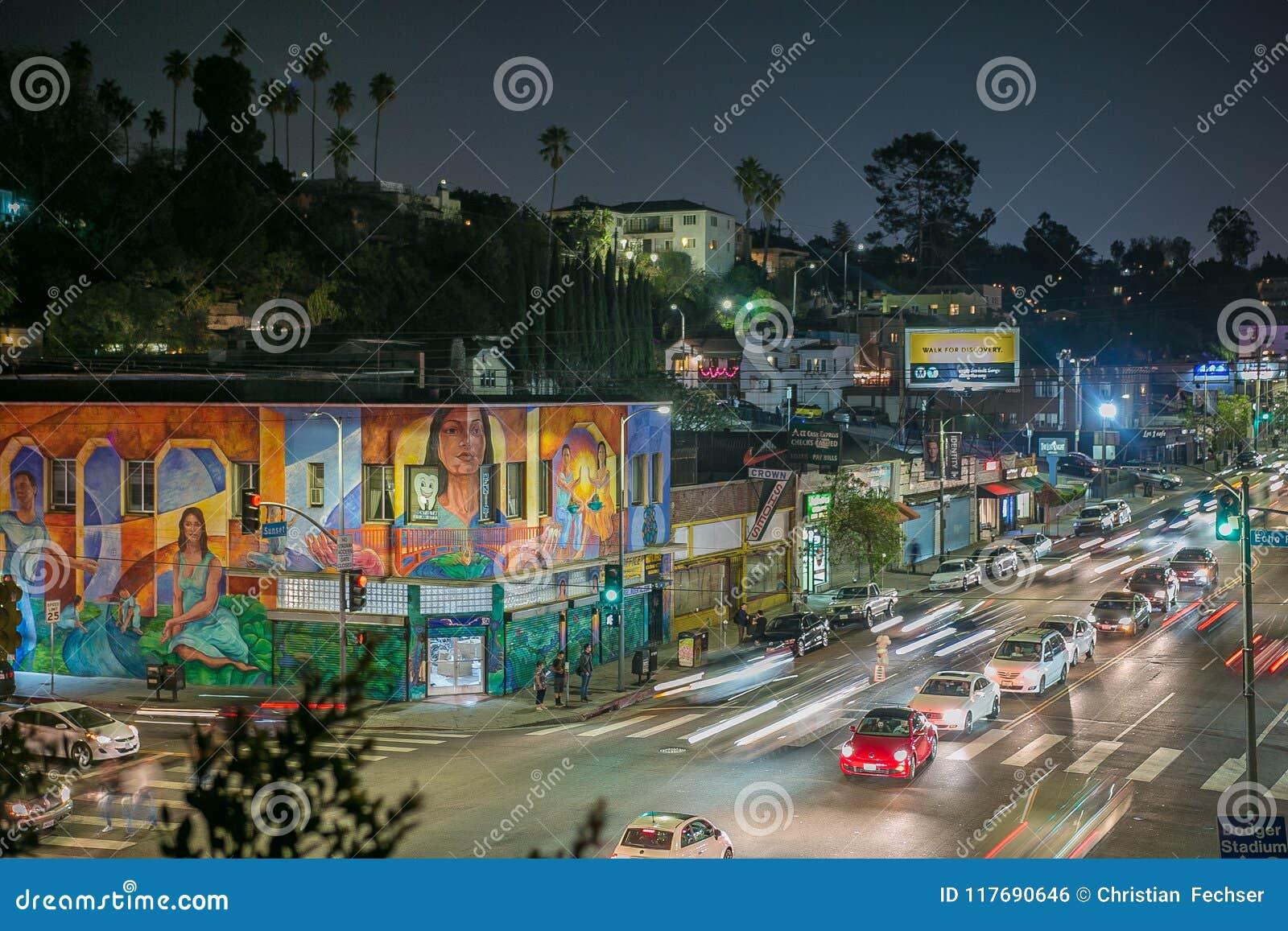 Όμορφο βράδυ στο πάρκο ηχούς, Λος Άντζελες
