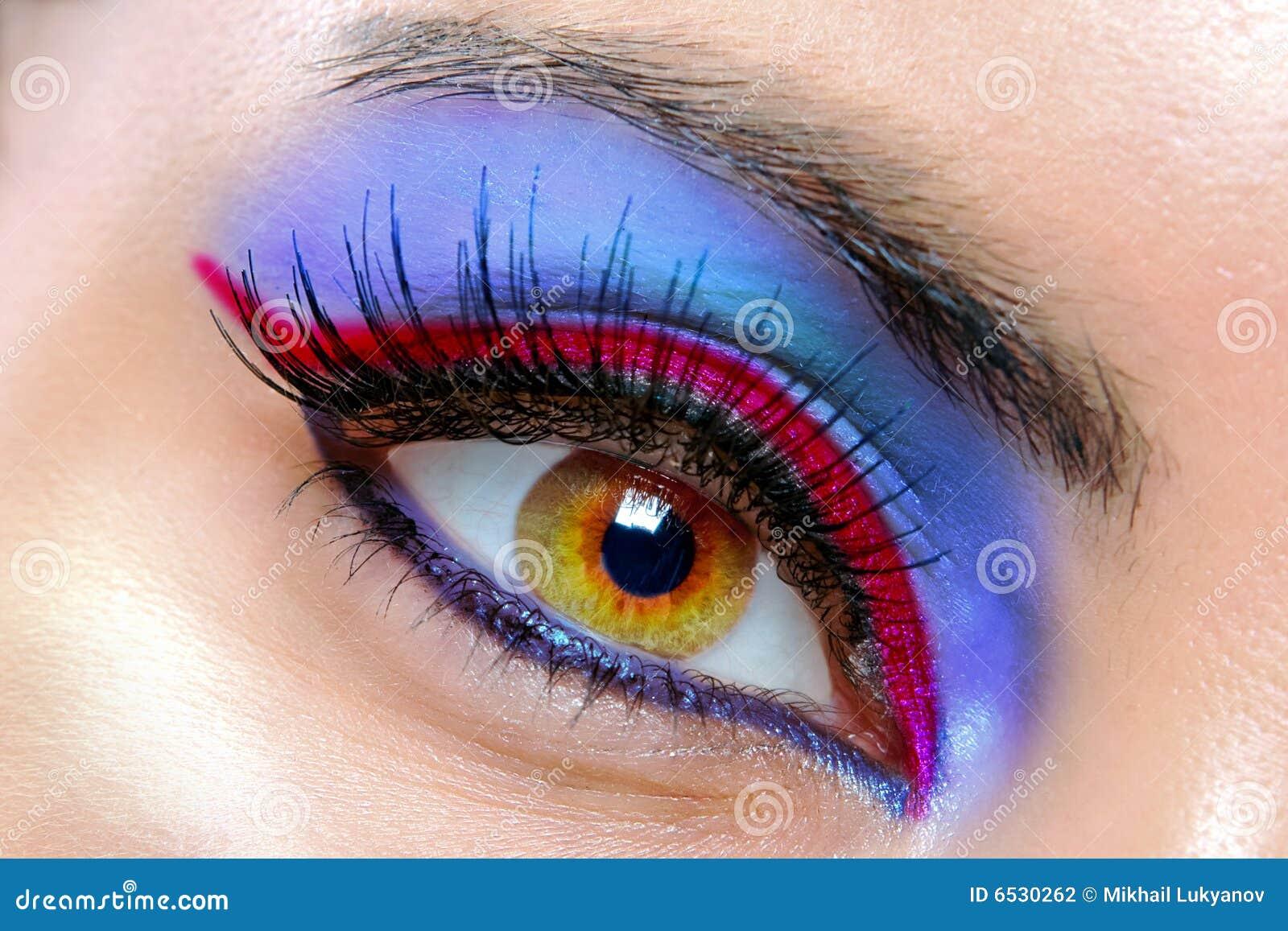 όμορφο θηλυκό ματιών