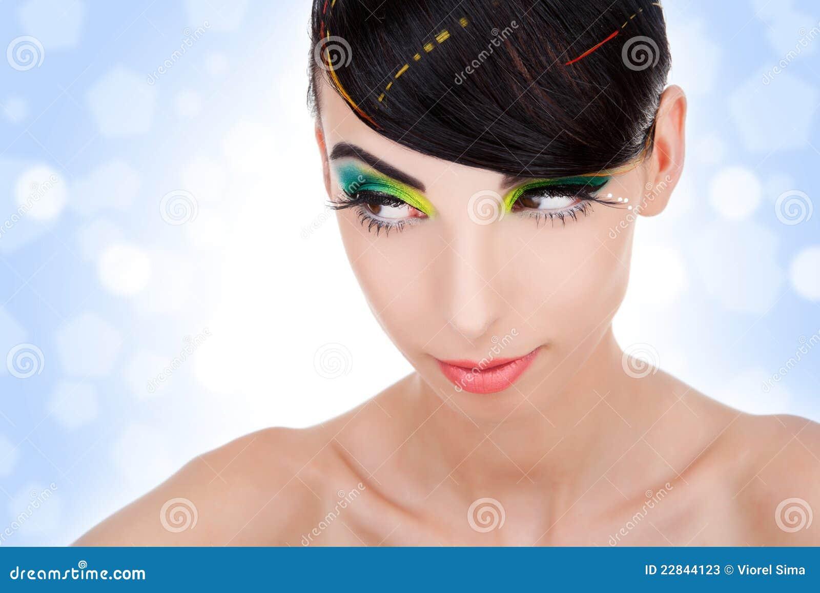 όμορφο καθαρό δέρμα famale