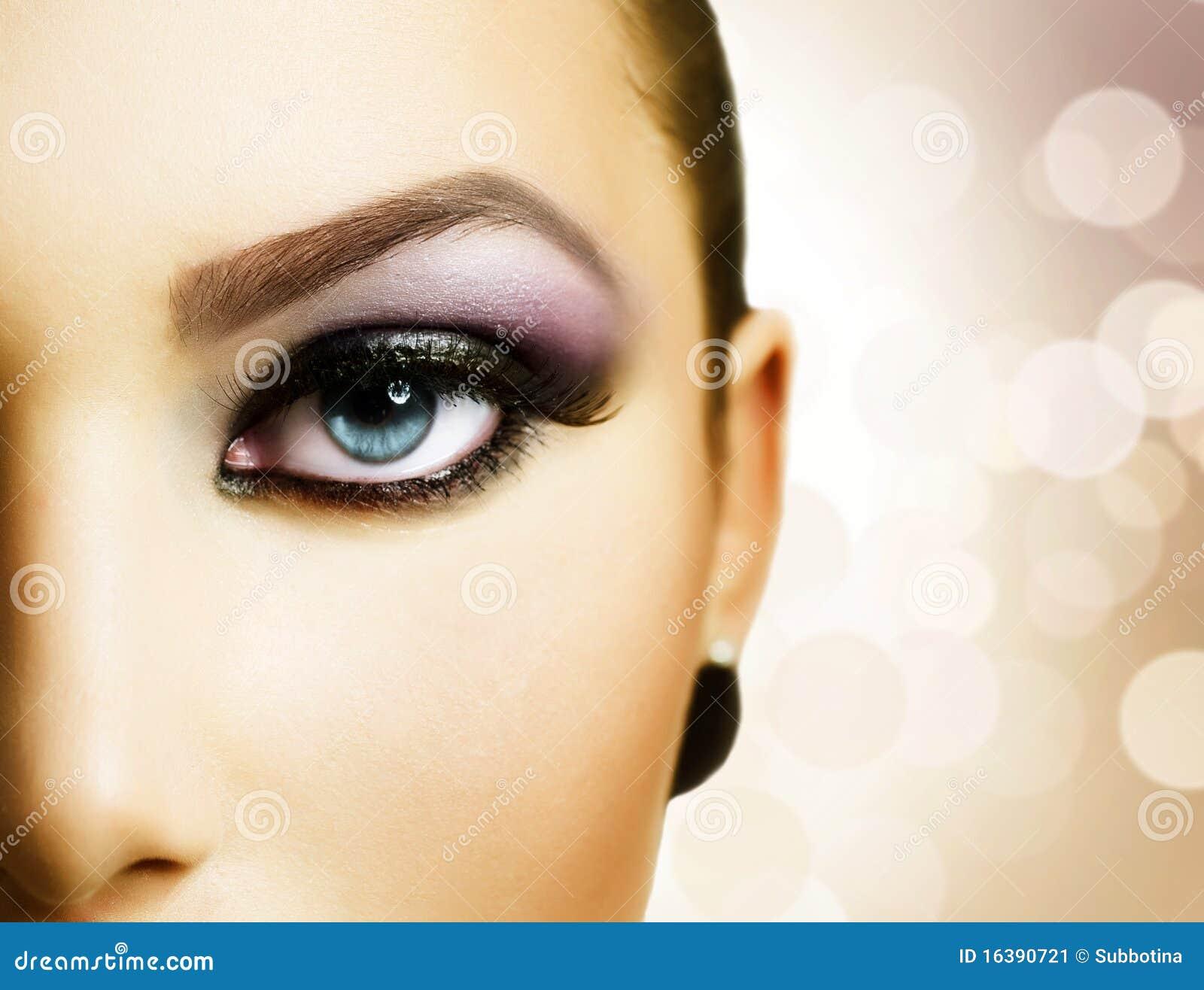όμορφο μάτι makeup
