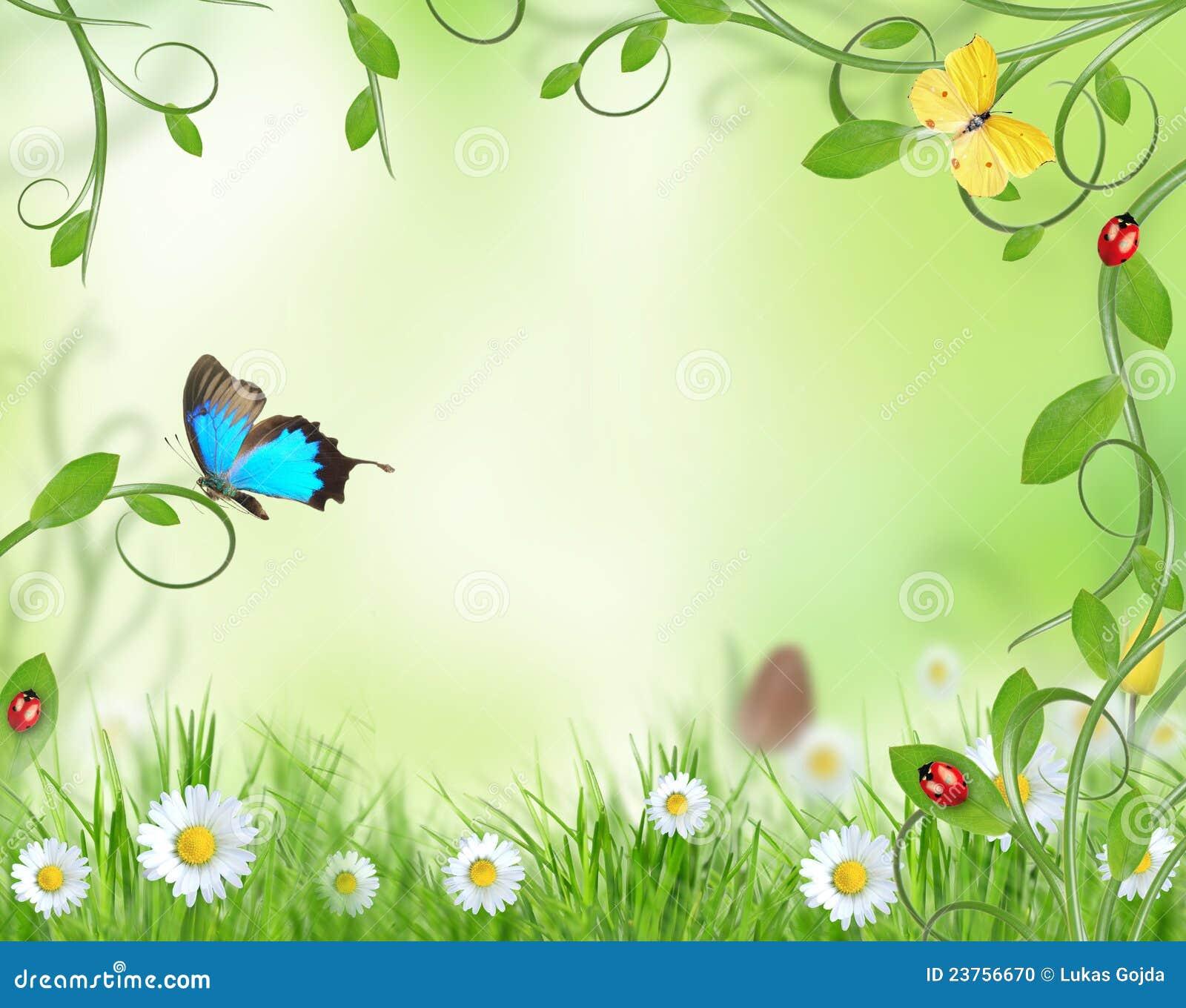 όμορφο σχέδιο floral