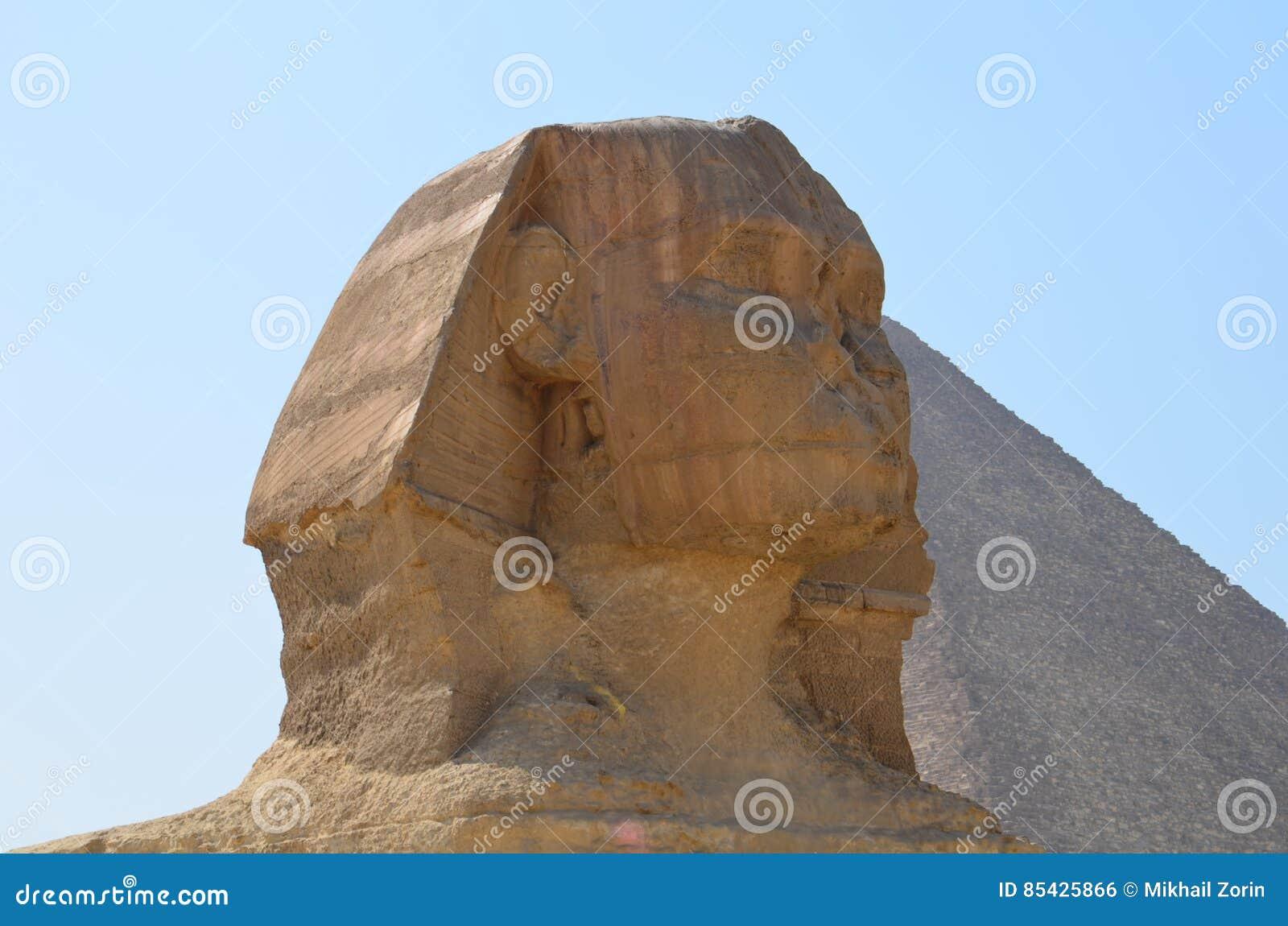 Όμορφο σχεδιάγραμμα του μεγάλου Sphinx