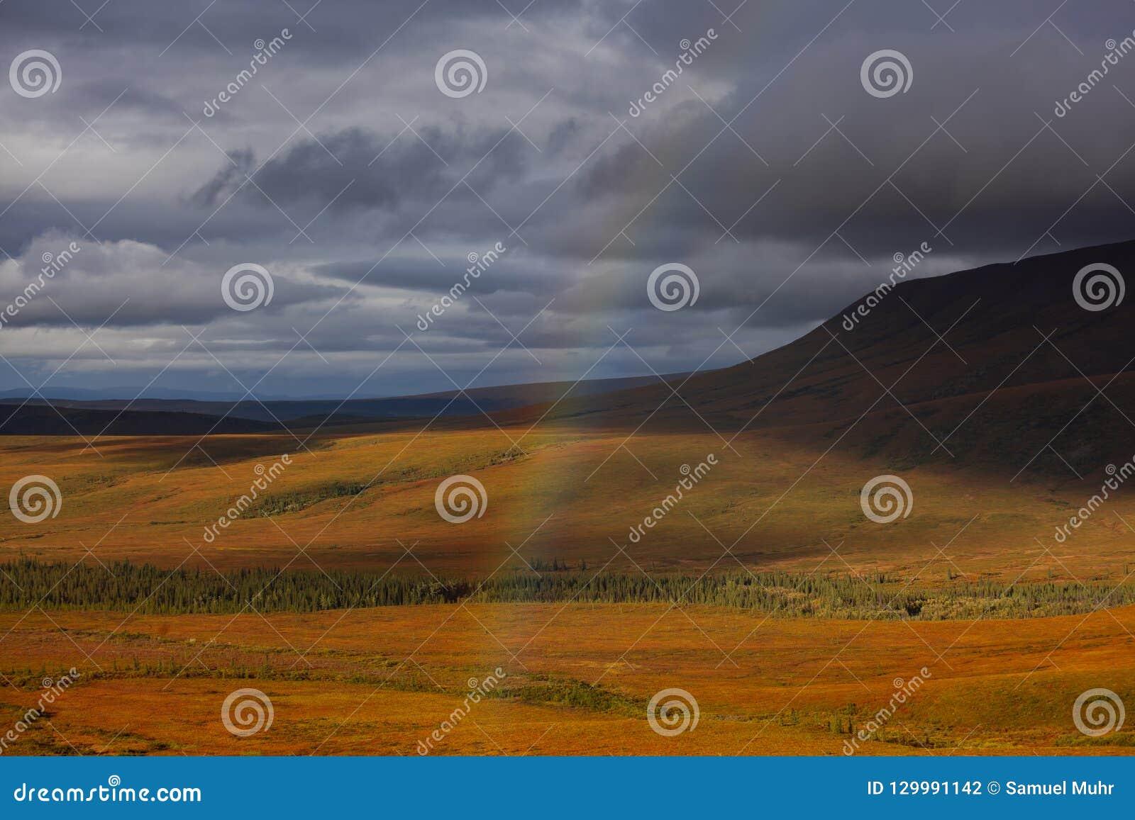 Όμορφο τοπίο στην Αλάσκα