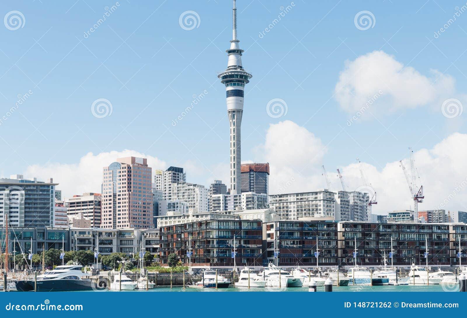 Όμορφο τοπίο του Ώκλαντ στη Νέα Ζηλανδία