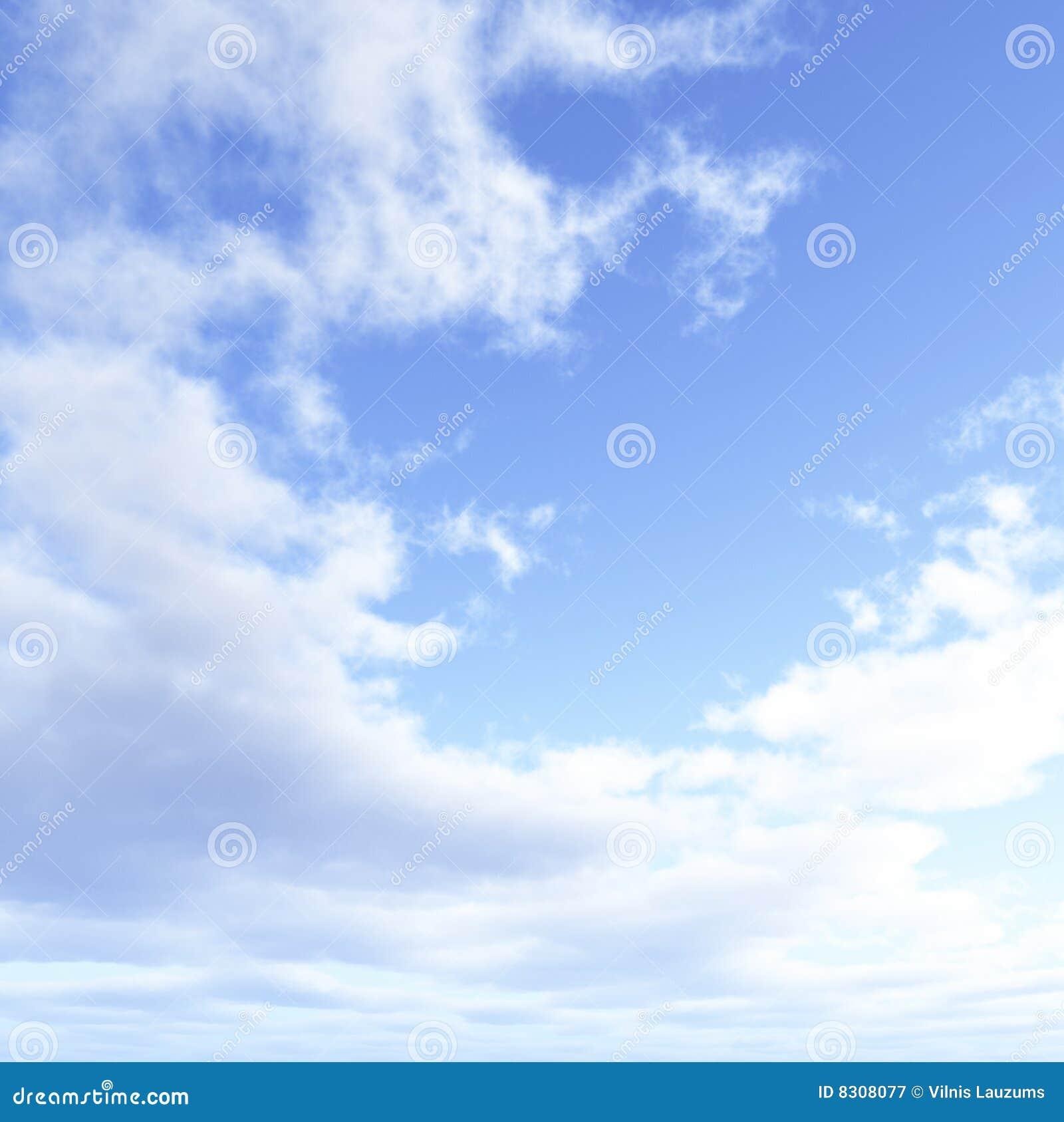 όμορφο cloudscape