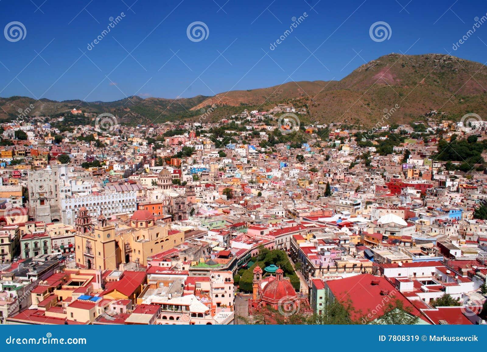 όμορφο guanajuato Μεξικό πόλεων