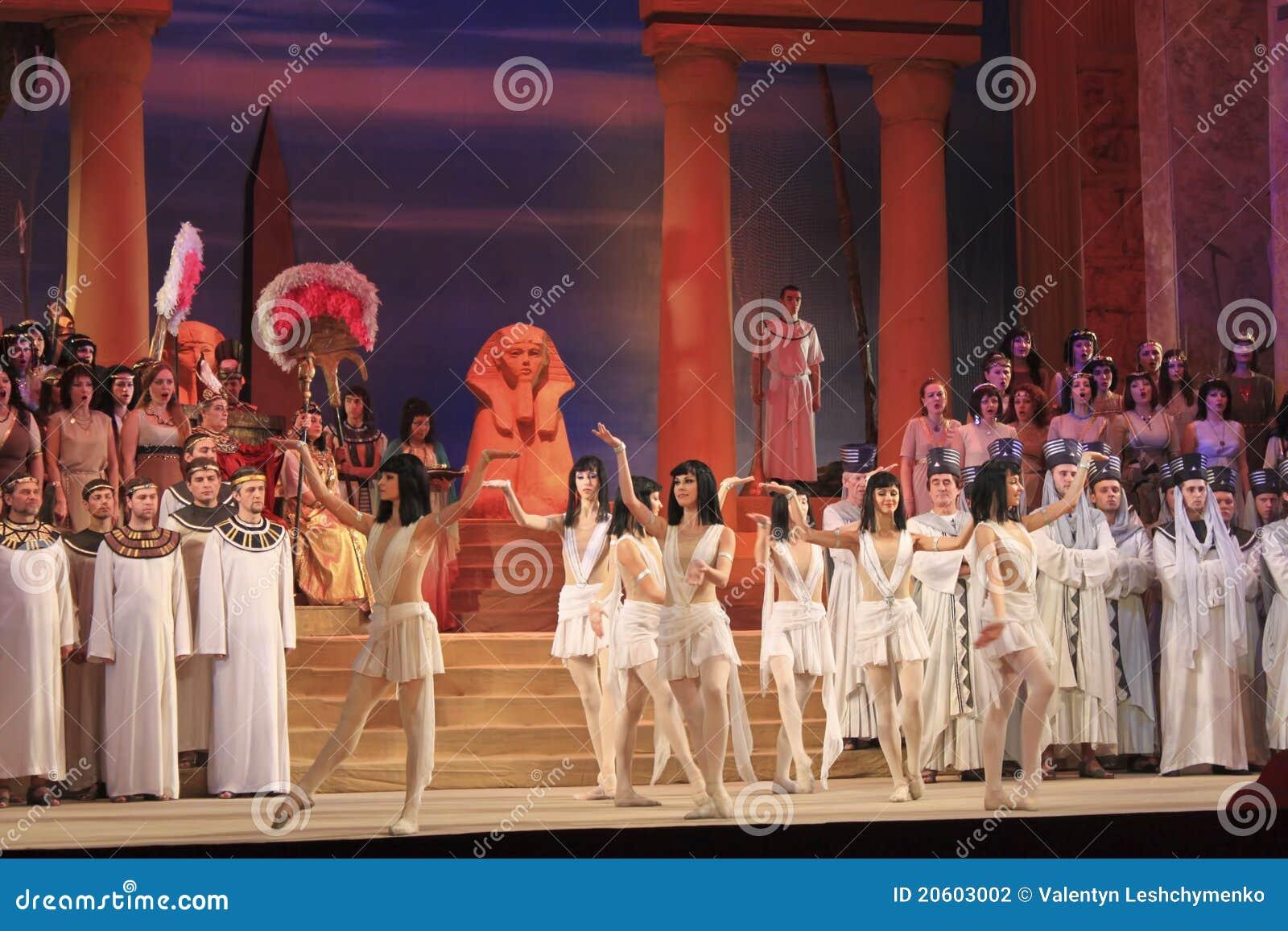 Όπερα Aida. Τεμάχιο