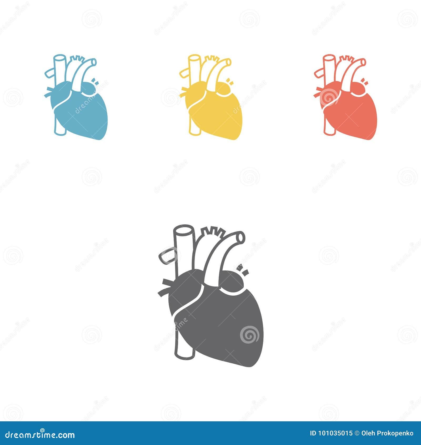 Όργανο καρδιών εικονιδίων